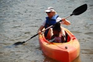 Kayaking at Deep Creek Lake