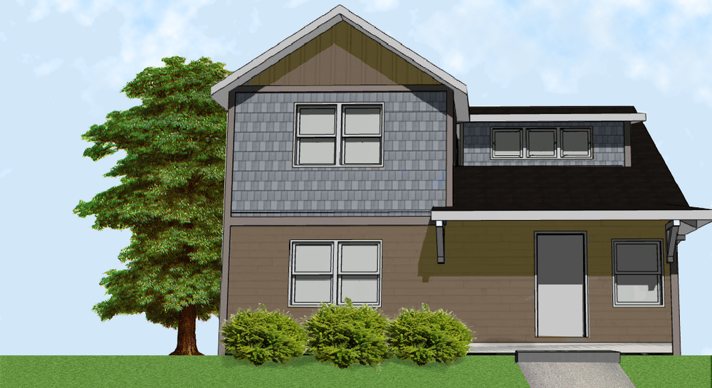 Here is the final design photo planned for the home