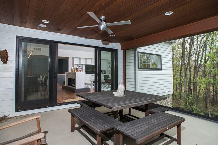 Modern Farmhouse Screened Porch 1