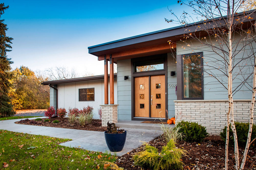 An Addition To This Mid Century Modern Ranch Almost Doubled It Size While  Maintaining Its