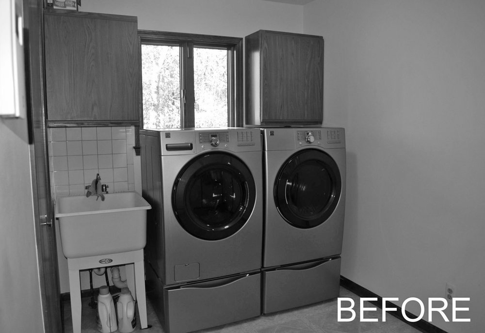Laundry Before Renovation