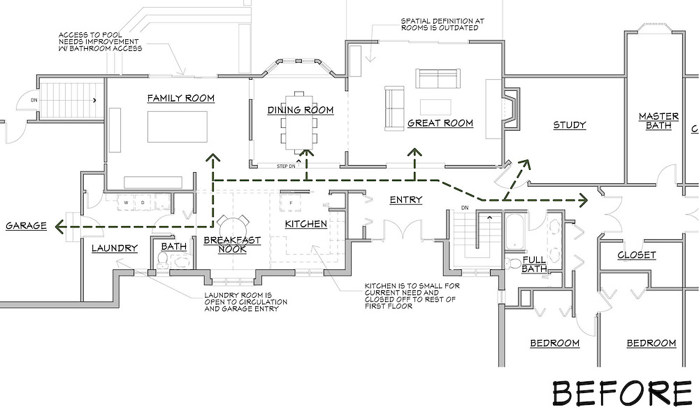 Pre-Existing Floor Plan
