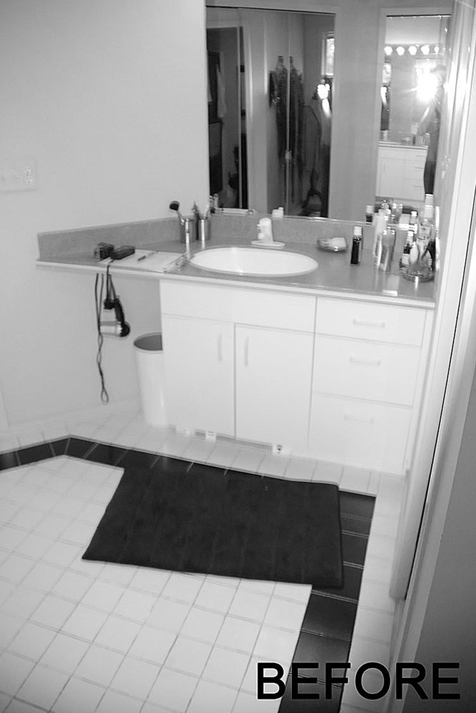 Before Bathroom Design and Build