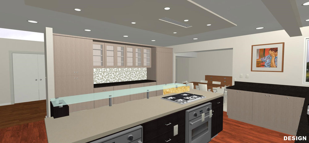 Redesigned Kitchen Illustration