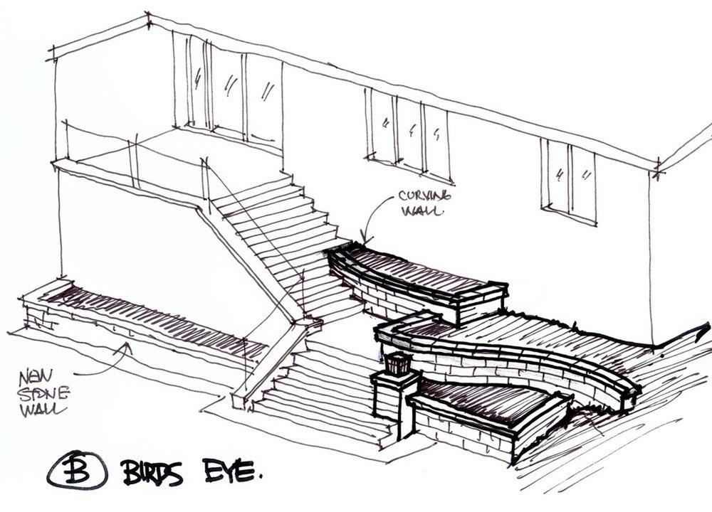 Hand Sketch Design Option B