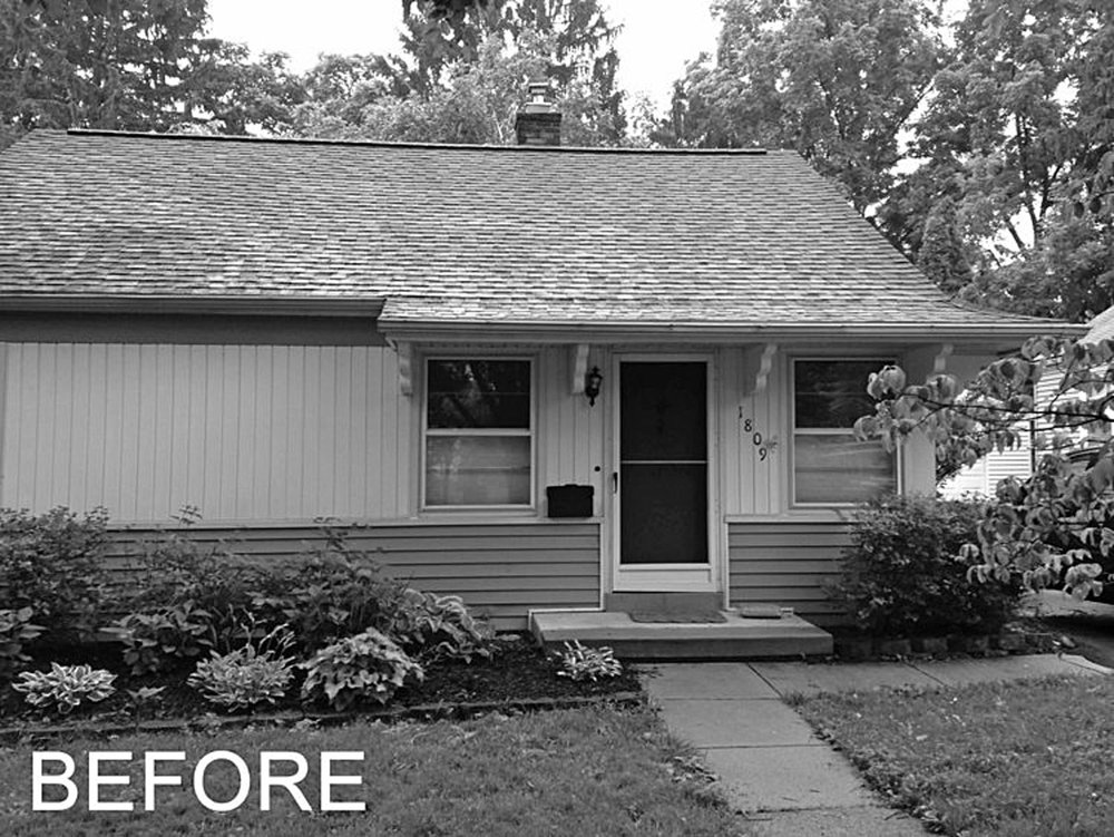 Before Addition Exterior Image