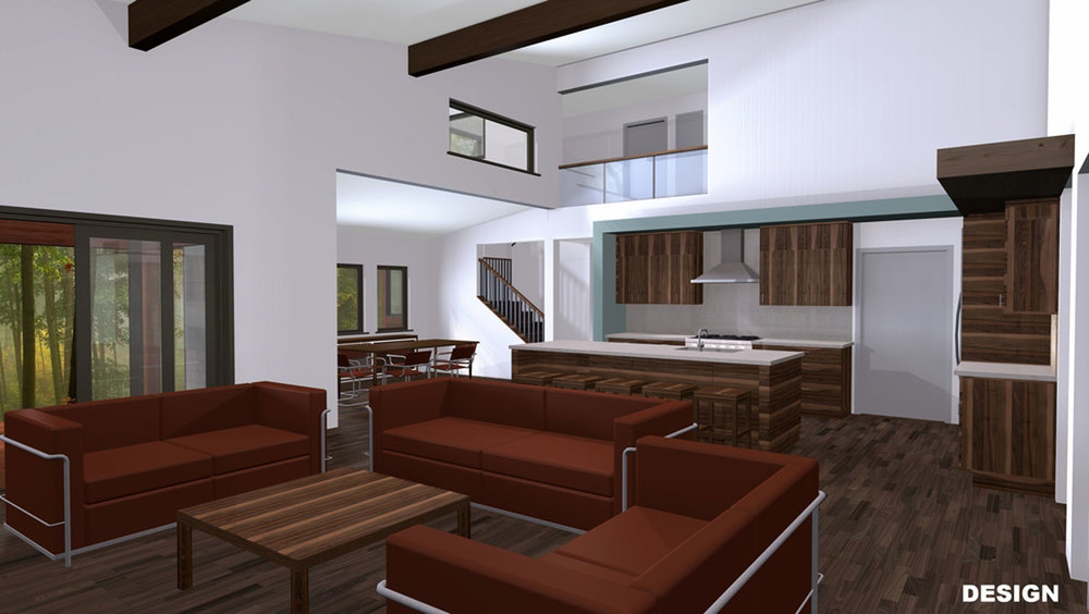 CUSTOM HOME ILLUSTRATION Interior