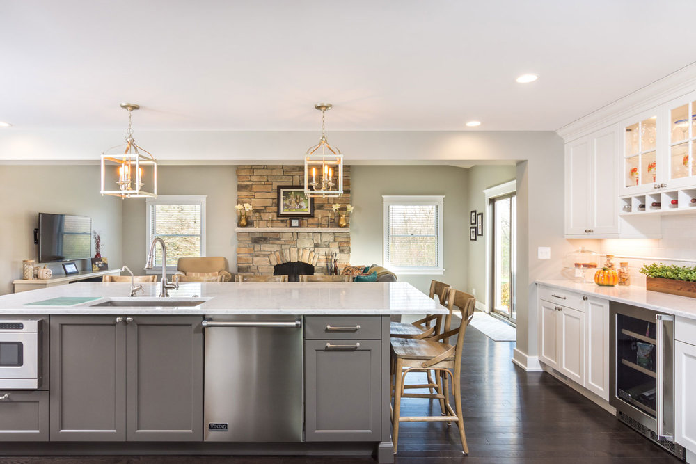 Pendant Kitchen Island and Countertop Lighting