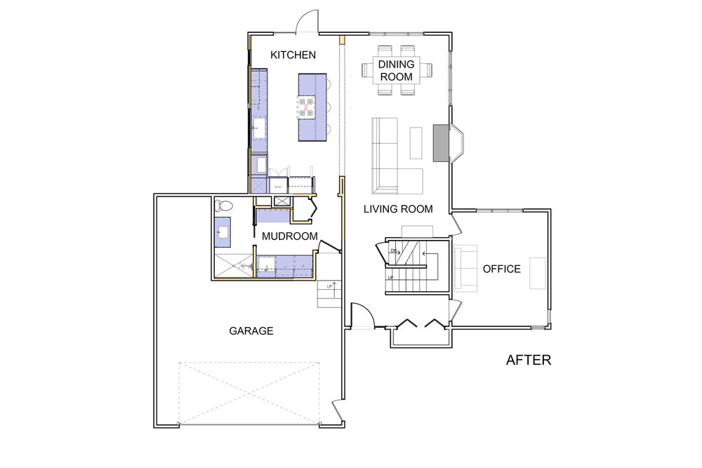 REDESIGNED FLOOR PLAN