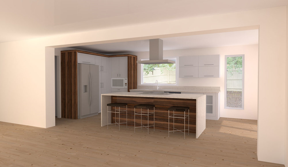 ILLUSTRATION OF KITCHEN DESIGN