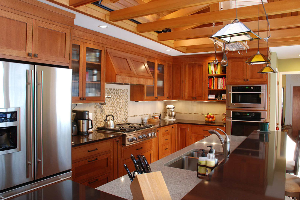 Choosing wood species for kitchen cabinets