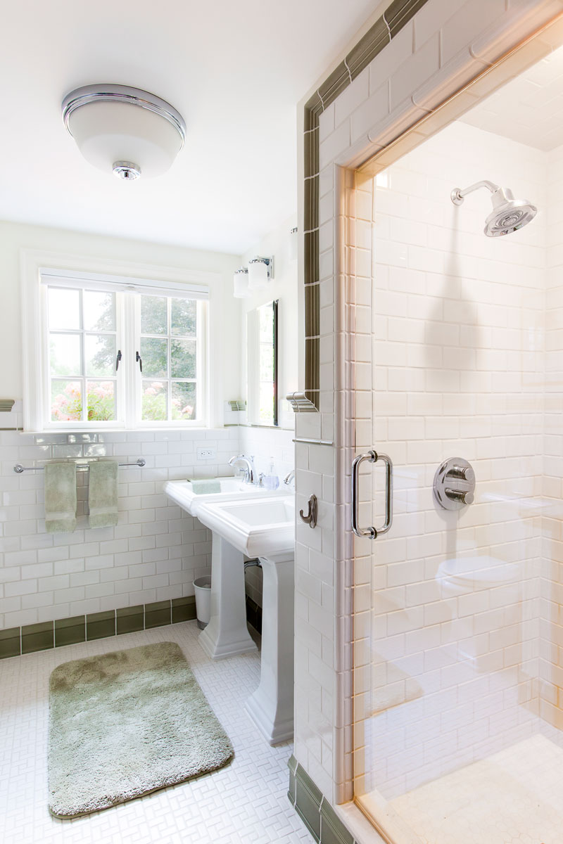 Remodeling A Small Bathroom Layout To Create A Larger Feel Forward Design Build Remodel
