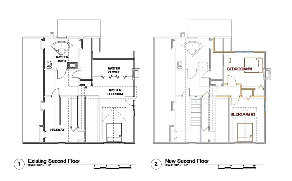 Plans - second floor