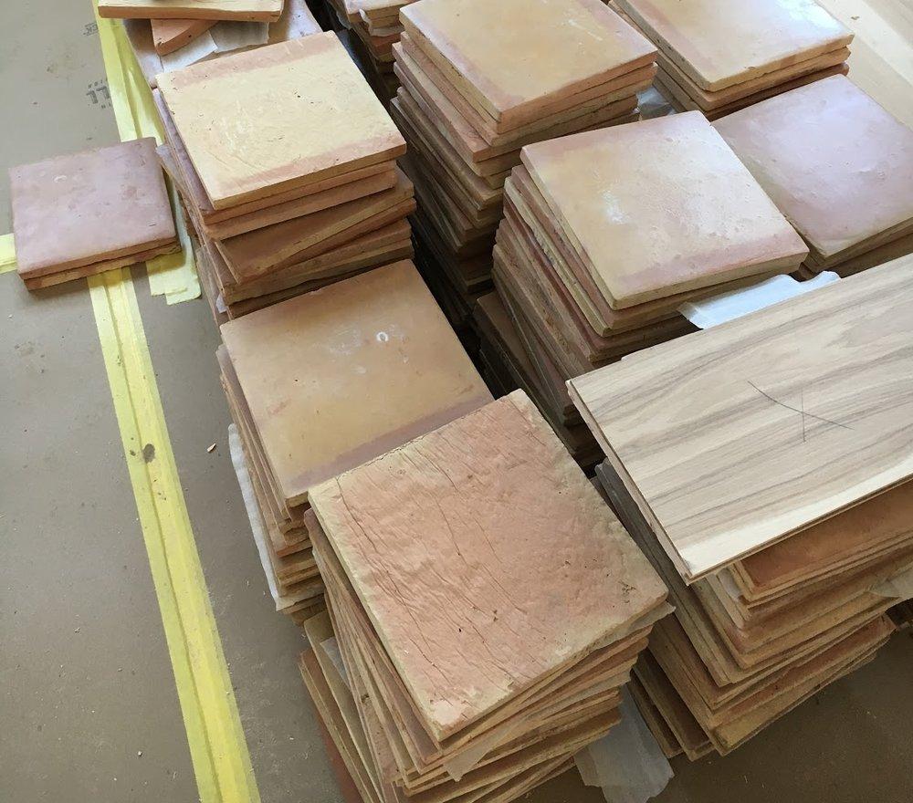 Mexican Clay Tiles