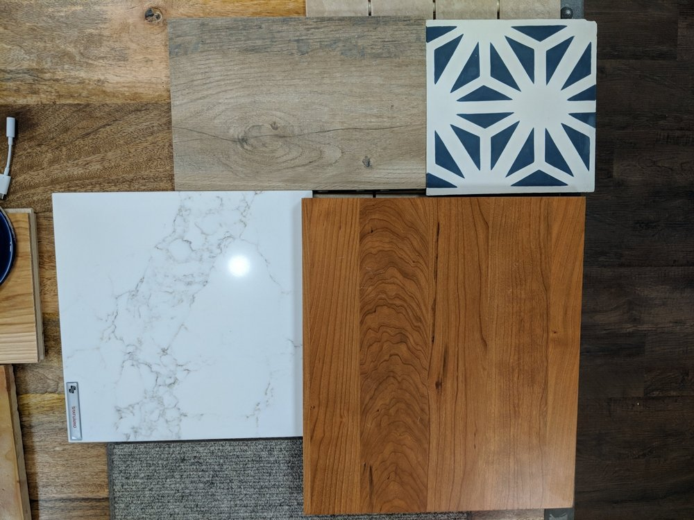 Floor and Counter samples