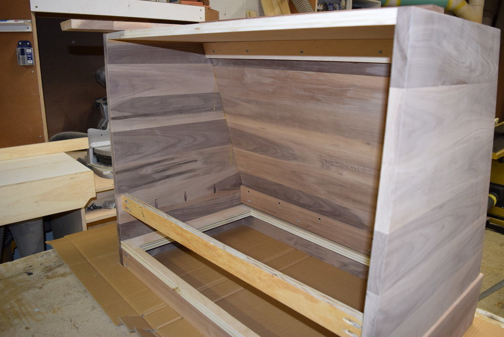 Interior of Walnut exhaust hood