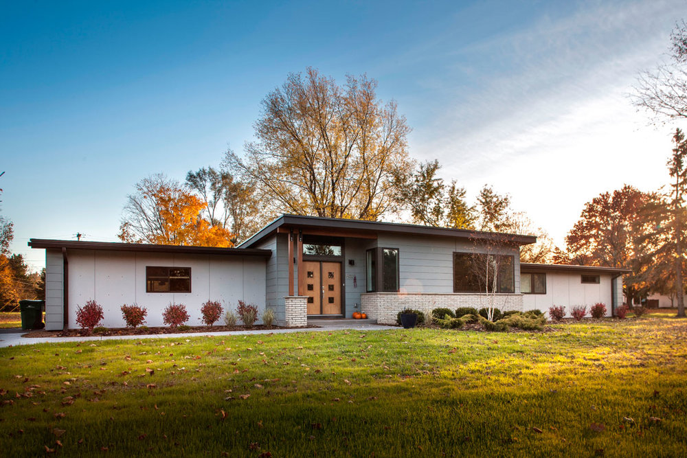 modern ranch home - 1000×667