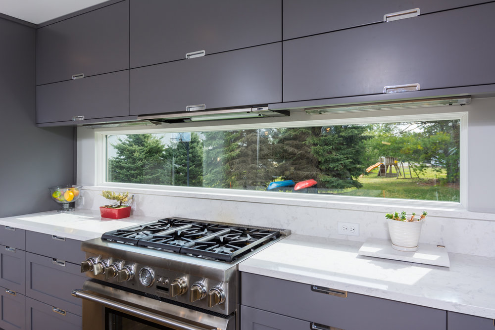 Choosing a range hood when remodeling a kitchen.