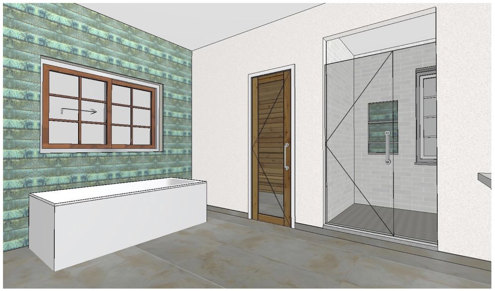 Design Rendering: Master Bath