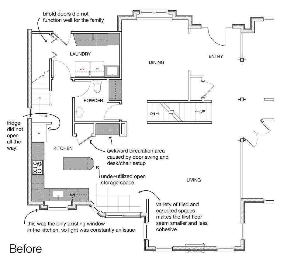 Pre-Existing Floor Plan