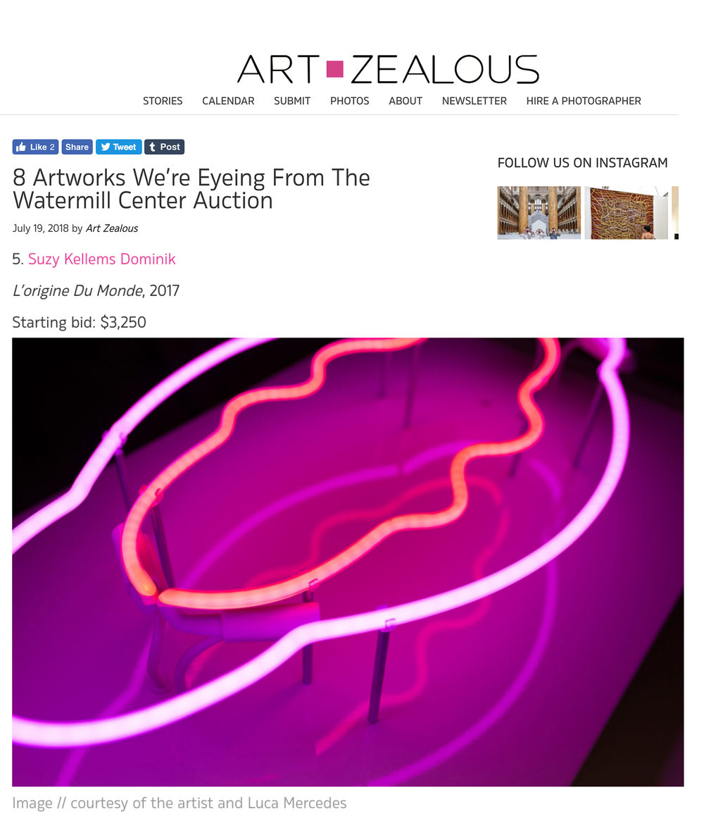 Art Zealous | Watermill Gala & Auction