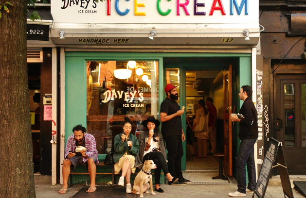 Davey's Ice Cream East Village