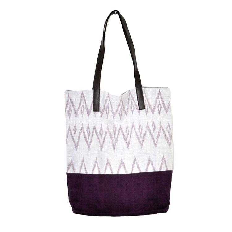 Territory | Handwoven Ikat Tote Bag $68