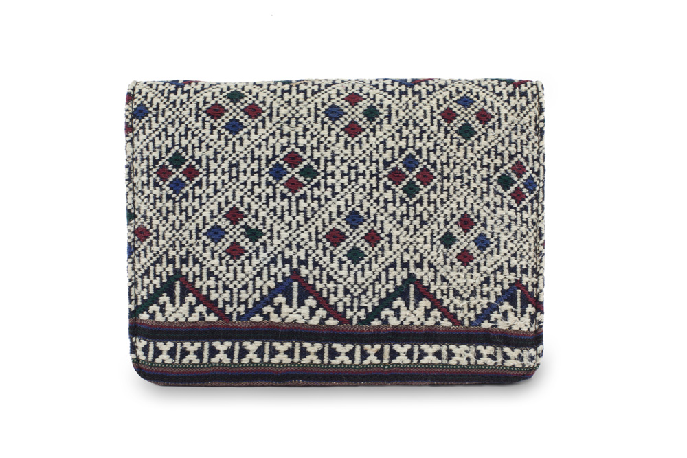Wild Tussah | Day to Night Handbag - Snowflake Weave $186