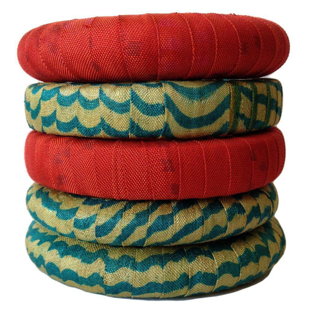 House of Wandering Silk - Sari Bangles €25