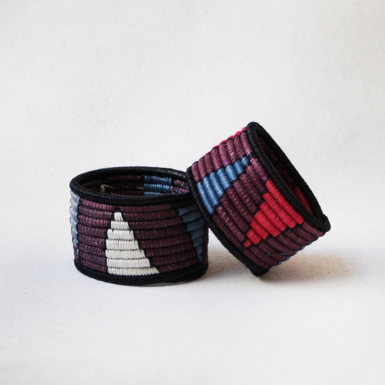 Indego Africa/Alyson Fox - Woven Bangle $25