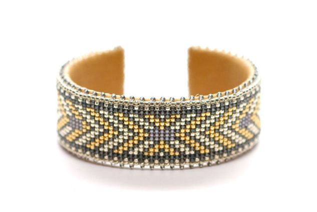 Etkie - Andrea Glass Cuff $168