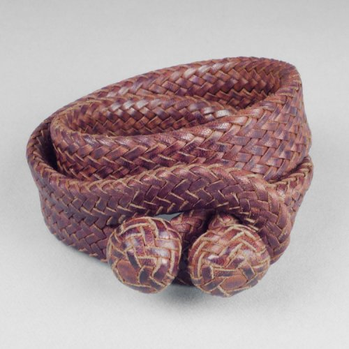 Aaron Lopez Bautista - Double Wrap Wide Bracelet $700