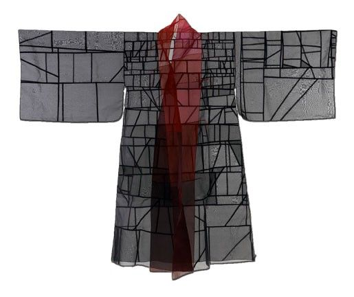 Pojagi kimono by Jiyoung Chung