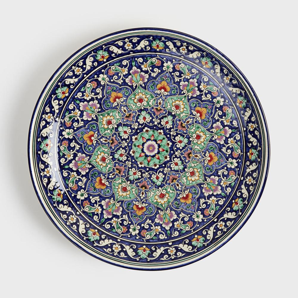 Double Floral Octagon Platter