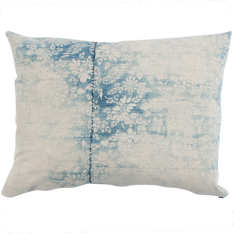 Faded Floral Pillow