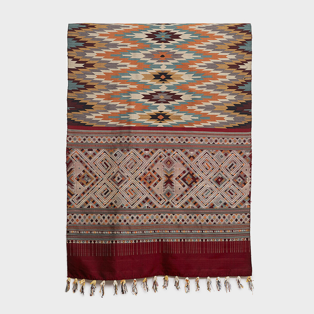 Ceremonial Lao Wedding Blanket