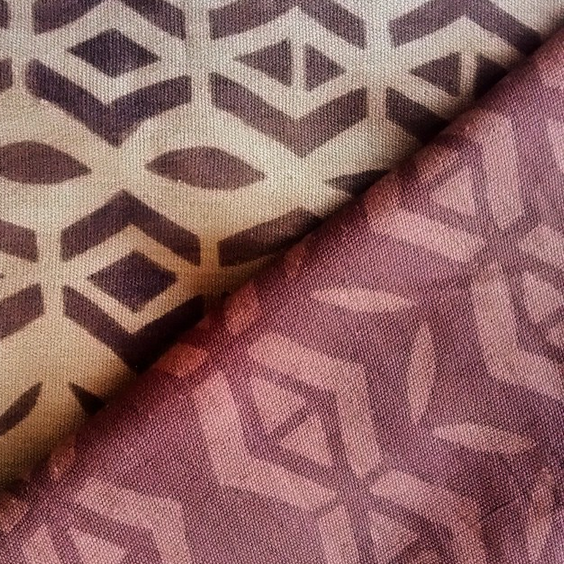 Bogolan dyed fabric