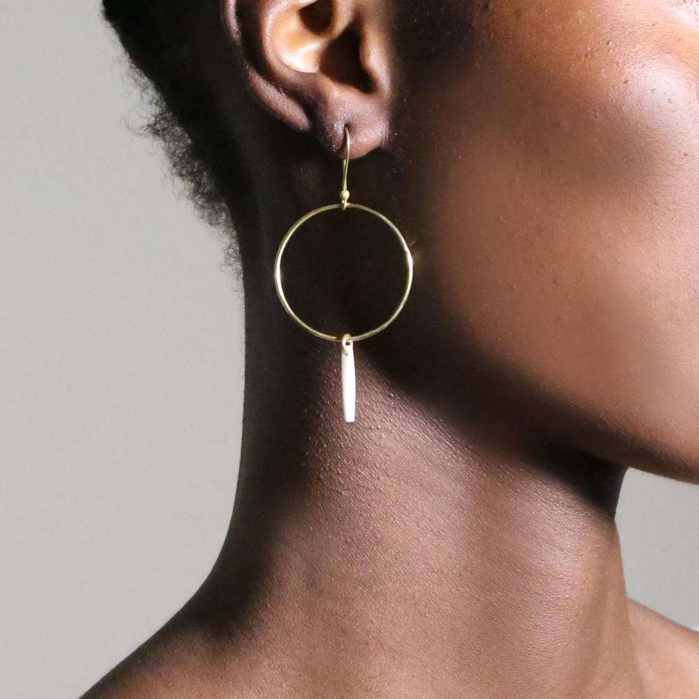 Sasi Hoop Earrings