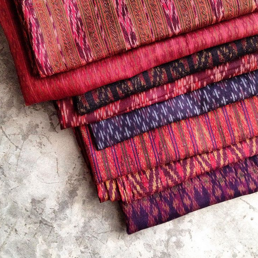 HOUSE OF WANDERING SILK     @wanderingsilk    Thai Silk Ikat Shrugs