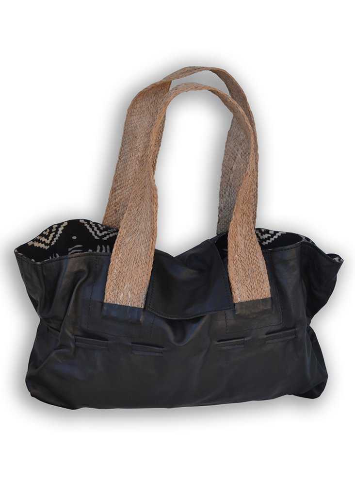 Ruched Tote