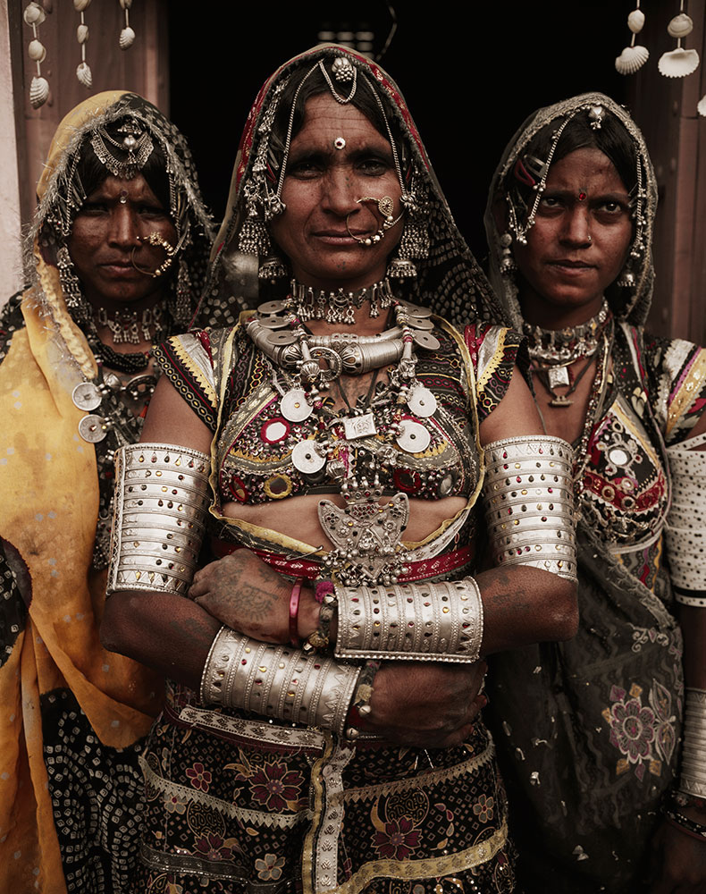 Rabari women, by Jimmy Nelson