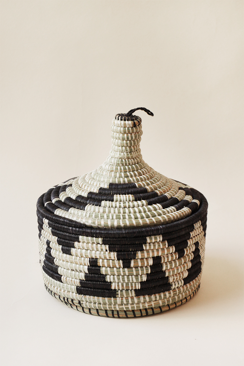 Marrakech Basket - Black
