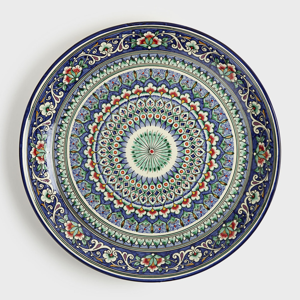 Spiral Decorative Plate