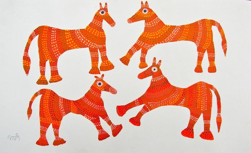 Pithora Horses