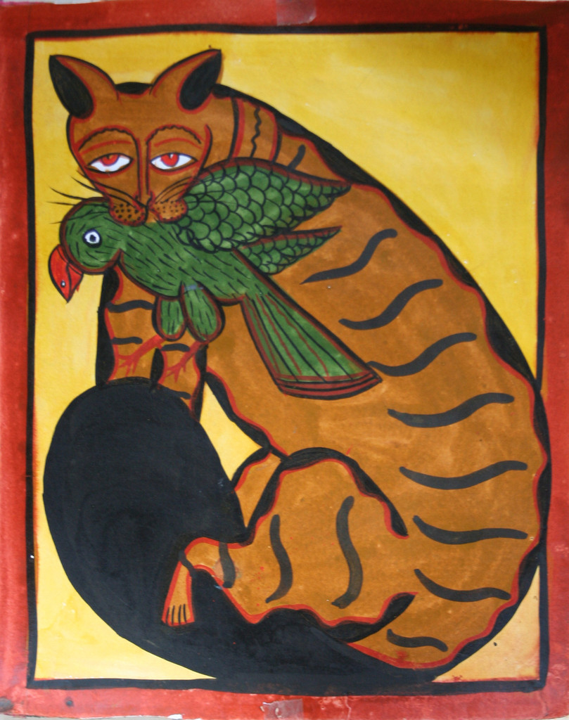 Kalighat Cat