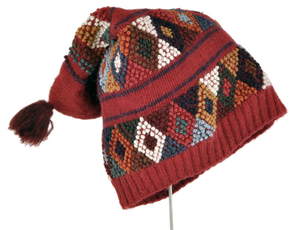 Accha Alta Alpaca Slouch Hat