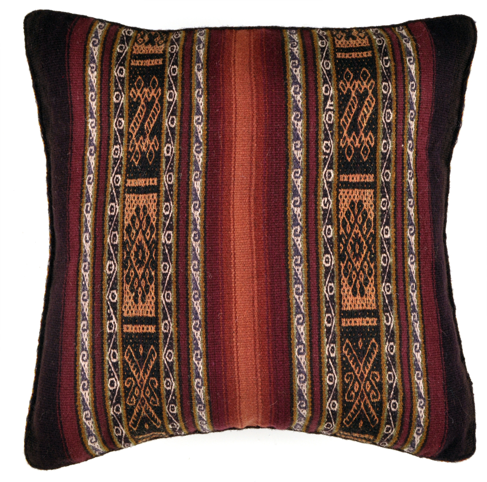 Chahuaytire Double Banded Pillow