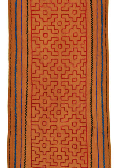 Shipibo Embroidered Runner