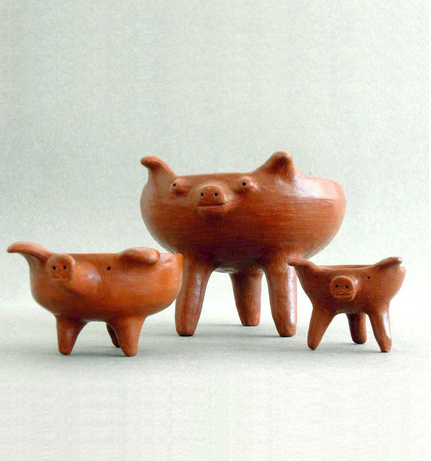 Three Little Pigs Dish Set