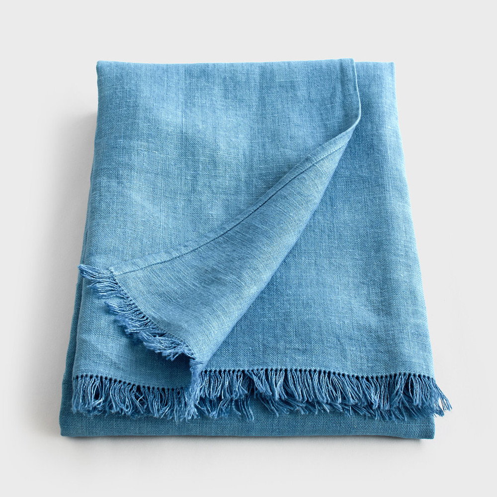 Baga Kene Linen Throw